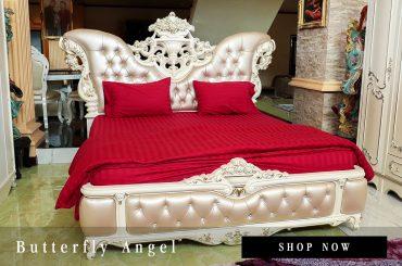 เตียงนอนหลุยส์ Butterfly Angel