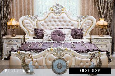 เตียงนอนหลุยส์ Platinum
