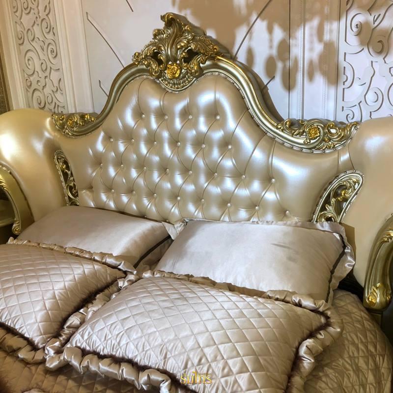 เตียงนอนหลุยส์ Gold Platinum